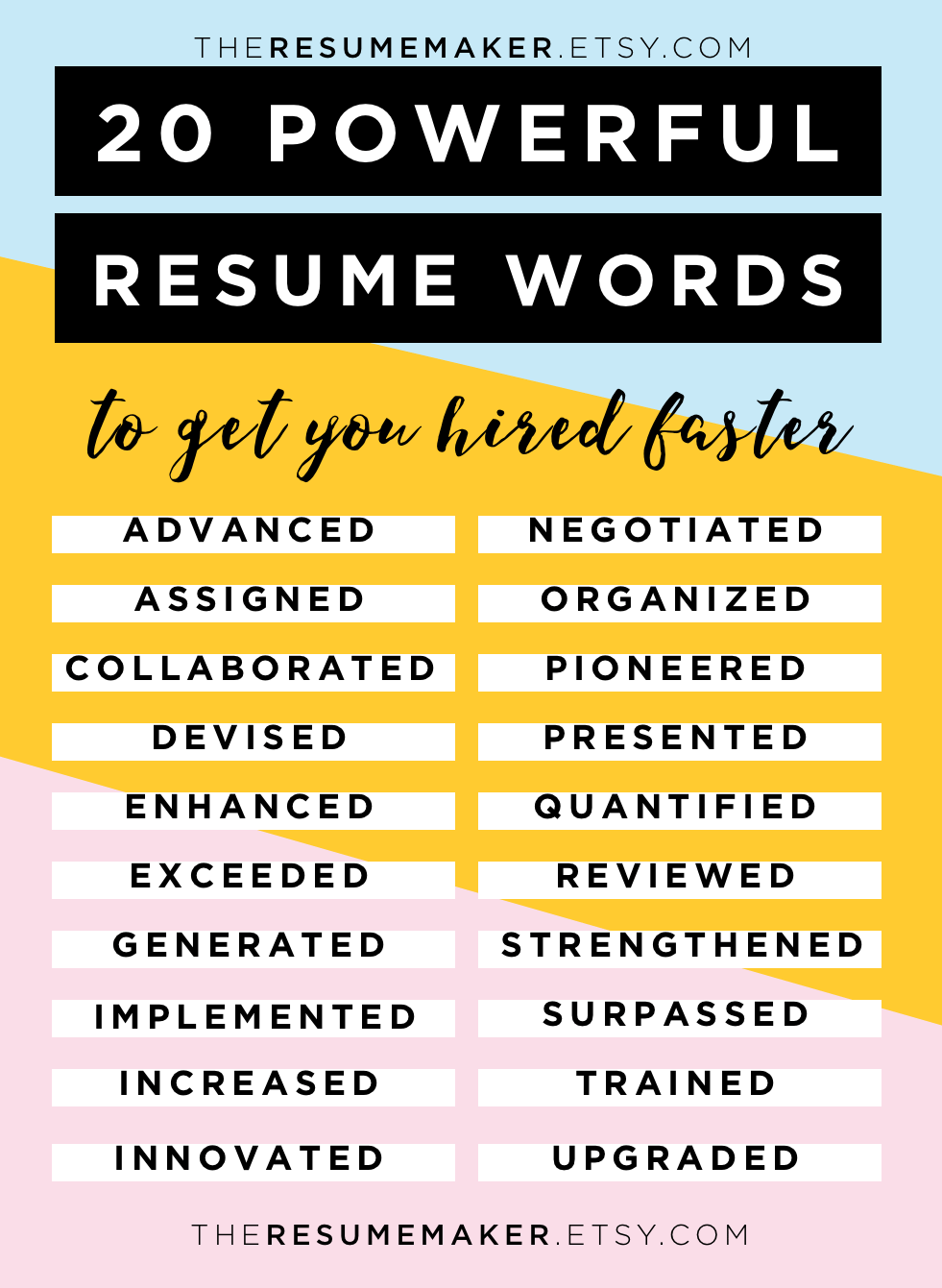 10 MOST IMPORTANT THINGS TO REMEMBER WHEN UPDATING YOUR RESUME