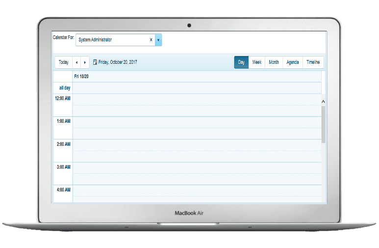 Multi User Calendar and Event Scheduler