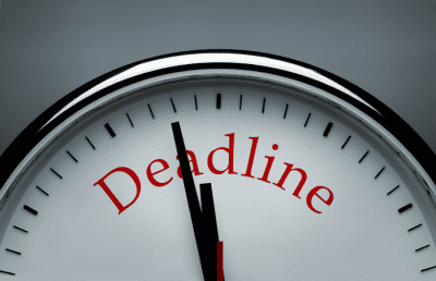 Making Deadlines Less Stressful
